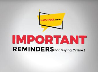 Important Reminders for Buying Online!