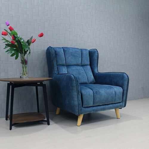 Fabric 1 Seater Sofa ELY