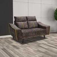 Velvet Fabric 2 Seater Sofa M6001