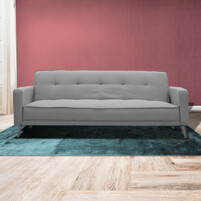 Imported Fabric Sofa Bed Perth (SILVER)