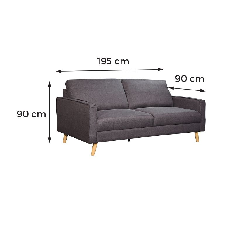 Elianto 3 Seaters-dimensions